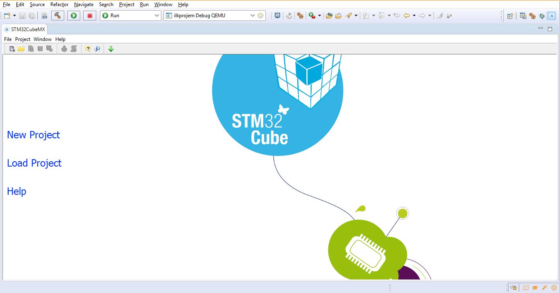 Eclipse için Cube MX Eklentisi